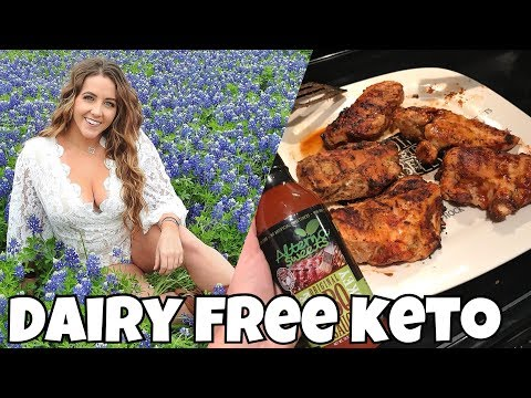 Dairy Free Keto Eating | Keto BBQ Chicken | Texas Bluebonnets