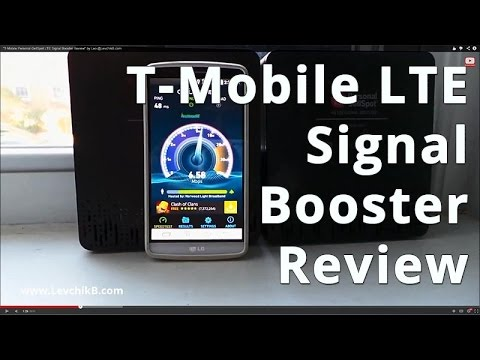 T-Mobile 4G LTE Home Signal Booster (CellSpot) Review by @DualSIM.us