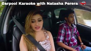 Nathasha Perera ( නටාෂා පෙරේරා ) - Carpool Karaoke - Creative Digital video