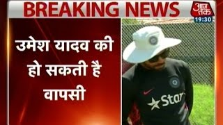 India vs England ODI: Umesh Yadav likely to return