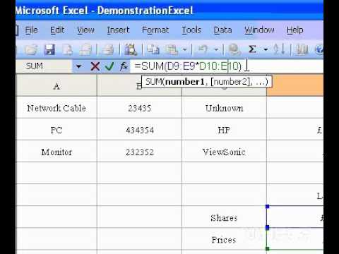 Microsoft Office Excel 2003 Edit an array formula