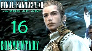 Final Fantasy XII The Zodiac Age Walkthrough Part 16 - Lhusu Mines Ambush (PS4 Gameplay)