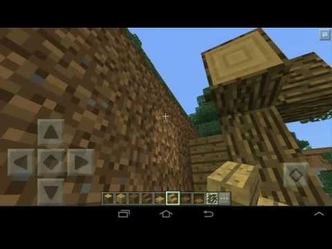 Minecraft PE: How to make a Hobbit hole / 0.15.4.