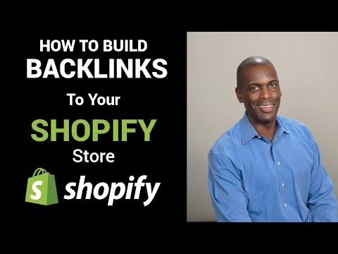 How To Build Backlinks for your Shopify Store using Advanced Google Parameters