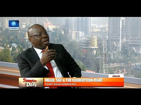 Sam Kargbo Speaks On SGF & Fight Against Corruption