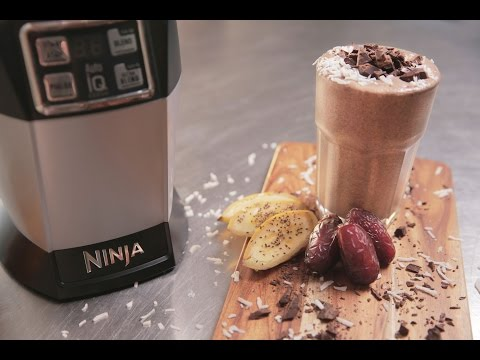 Nutri Ninja Recipe - Chocolate in the Raw Smoothie with Coconut Milk and Cacao Powder