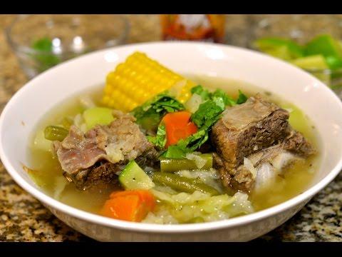Beef Rib Soup Recipe / Caldo de Costilla de res