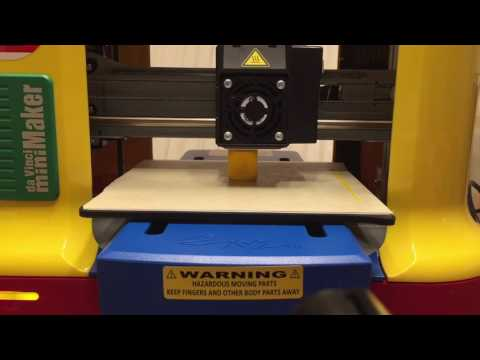 DaVinci MiniMaker 3D Printer Timelapse