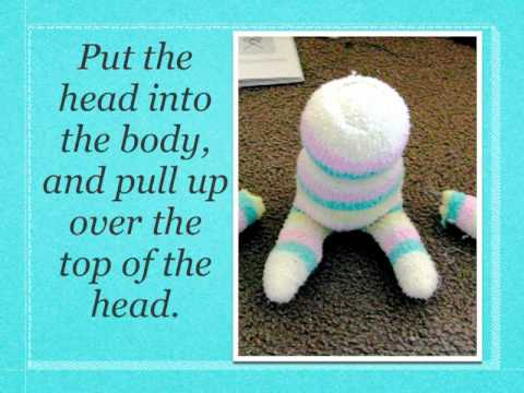 How to make Handmade dolls out of Socks from dollar tree