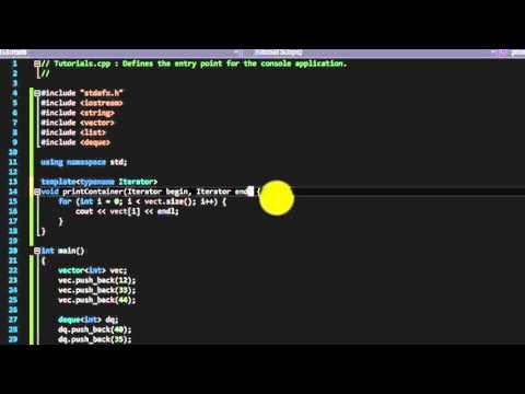 C++ Iterators