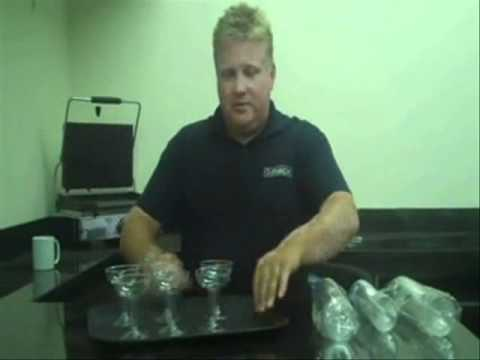 Reusable Platic Cocktail Glass - Product Demonstration