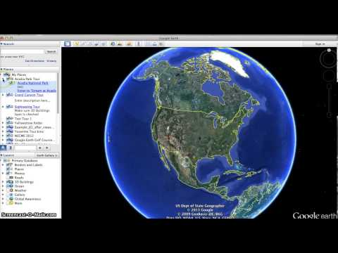 How to Save and Open Files with Google Earth
