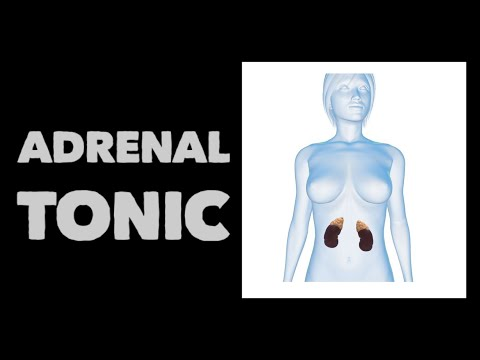 Adrenal tonic tincture by Rosemary Gladstar