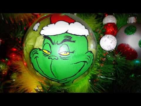 How the Grinch Stole Christmas Tree (with hand pai