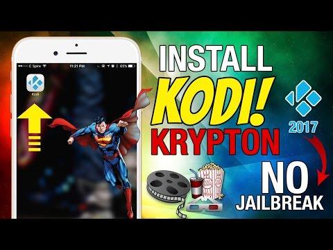 NEW Install KODI Krypton - ANY iPhone/Android - Watch Live TV, Movies, PPV FREE! (NO JAILBREAK 2017)