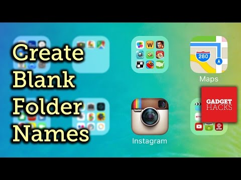 Remove Folder Labels on Your iPad, iPhone, or iPod touch [How-To]