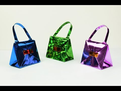 How to make a paper Bag? (part 1)