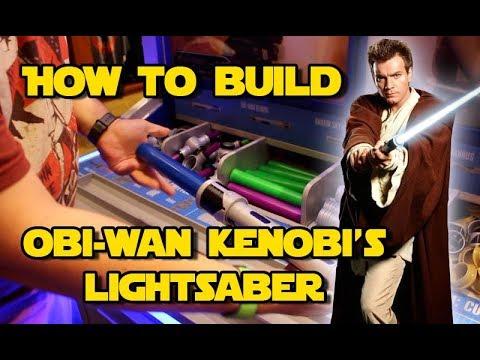 Star Wars   Build your own Obi-Wan Kenobi Lightsaber toy at Disney World
