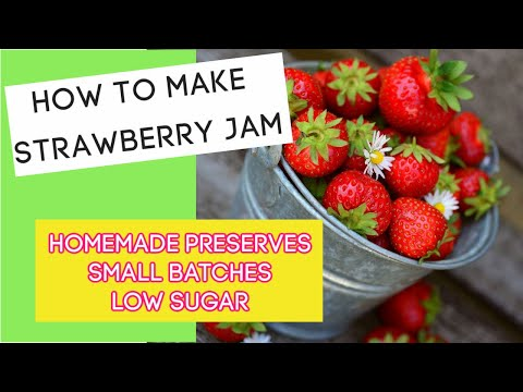Easy Canning Recipe with Strawberries