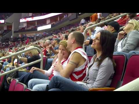 Guy kisses his wife's sister on kiss cam at rockets game KISS cam Gone wrong