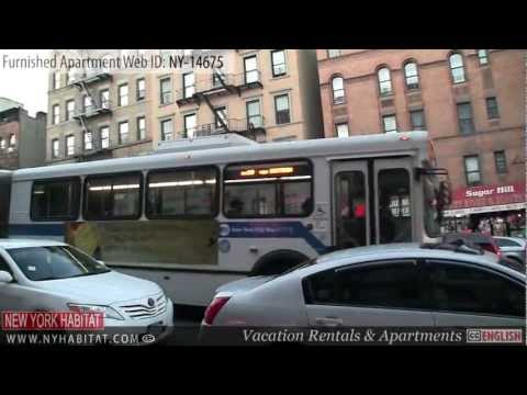 Manhattan, New York - Video tour of a furnished apartment on West 141st street (Hamilton Heights)