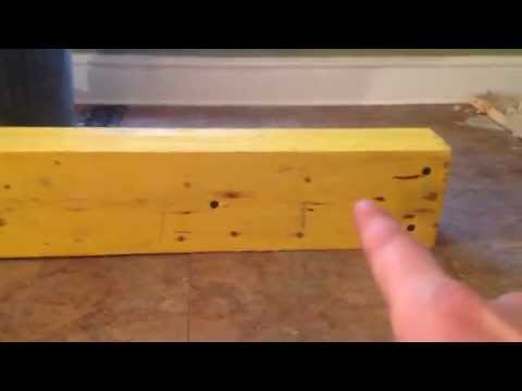 How To Install Load Bearing Beam- Laminated Veneer Lumber LVL (PART-1)
