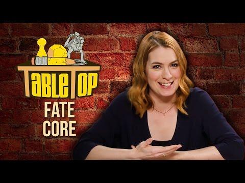 TableTop: Wil Wheaton Plays FATE CORE w/ Felicia Day, John Rogers, & Ryan Macklin