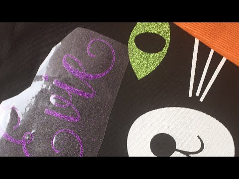 Personalized Halloween Tote Bags with the Cricut Easy Press and Cricut Maker
