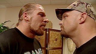 """Triple H denies running over """"Stone Cold"""" Steve Austin: Raw, Sept. 25, 2000"""