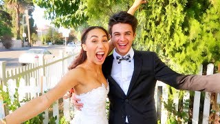 I GOT MARRIED TO MY BEST FRIEND FOR 24 HOURS (w/ MyLifeAsEva) | Brent Rivera