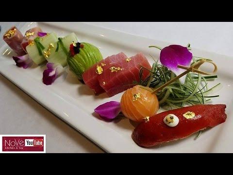 Edible Sushi Art  - How To Make Sushi Series