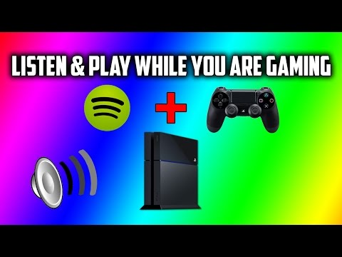 How To Listen Music With Spotify While You Are Playing Games On PS4 Tutorial 2015!