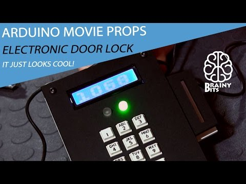 The Door Lock Control Panel!  Making Movie Props using an Arduino - Final Part