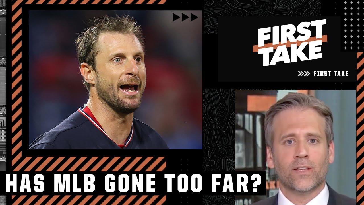 Reacting to Max Scherzer and Sergio Romo's repeated foreign substance inspections   First Take