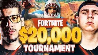 Fortnite *Season 5* $20,000 YouTuber Tournament!!