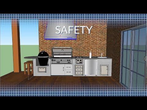 Outdoor Kitchen Safety & Ventilation | BBQGuys.com
