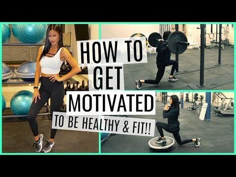 HOW TO GET FIT & HEALTHY NOW!! NO EXCUSES! TIPS & TRICKS