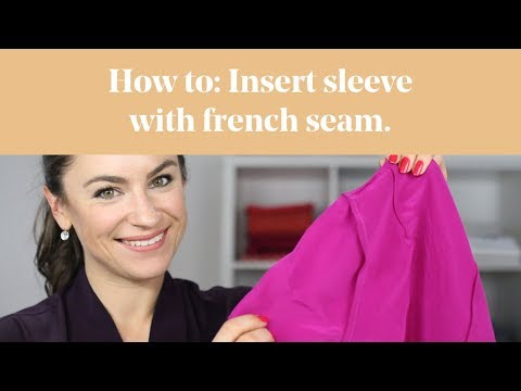 How To: Insert Sleeve with French Seam