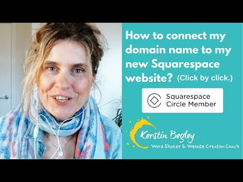 How to connect my domain name to my new Squarespace website (click by click) - 2018
