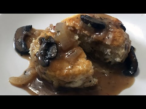 Perfect Brown Mushroom Gravy from scratch fully explained
