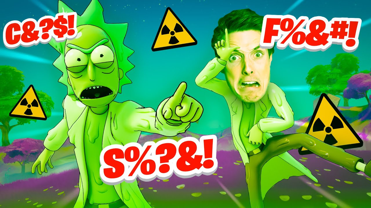 THE MOST TOXIC RICKS in FORTNITE!