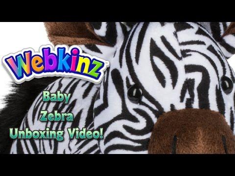 Webkinz Baby Zebra Unboxing - NEW Pet February 2017!