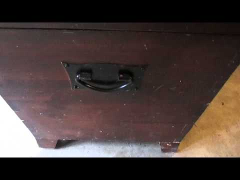 Cedar Chest Restaining Project