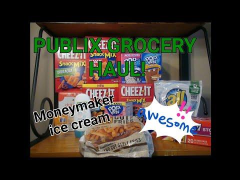 PUBLIX GROCERY HAUL 04/26-05/01 or 05/02| MONEYMAKER ICE CREAM!