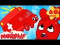 Auch That Hurts Morphle Bumps His Head And Turns Into A Ambulance Vehicle Videos For Kids