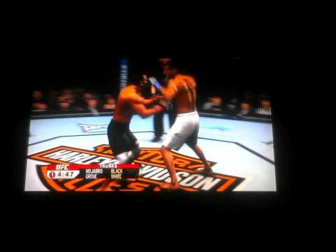 UFC 2009  bad player on ps3