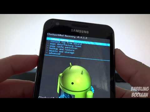 How to install CM10.1 (Android 4.2.2) on Galaxy S2: AT&T Skyrocket and Rogers LTE