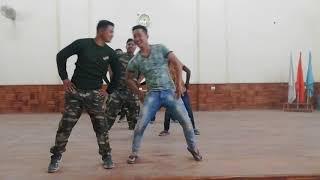 New bihu dance in crpf