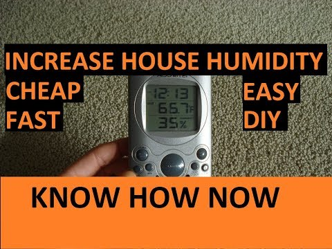 Add Moisture to the Air Without a Humidifier