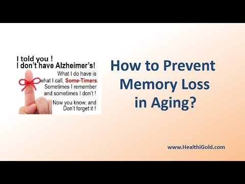How to Prevent Memory Loss in Aging?   Does Improve Memory Supplements help?